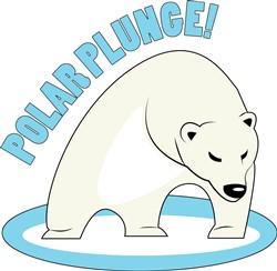 Polar Plunge print art