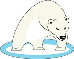 Polar Bear print art