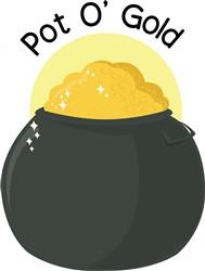 Pot O Gold print art