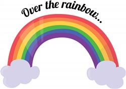 Over the Rainbow print art