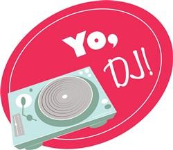 Yo, DJ! print art