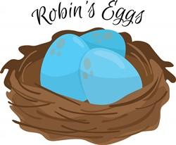 Robins Eggs print art