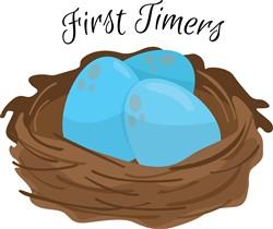 First Timers print art