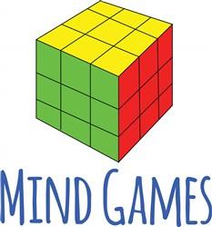Mind Games print art