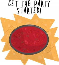 Party Started print art