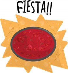 Fiesta Chips print art