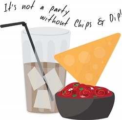Party Chips print art
