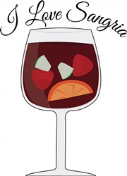 Love Sangria print art