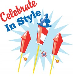 Celebrate in Style print art