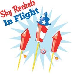Sky Rockets print art
