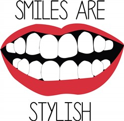 Smiles are Stylish print art