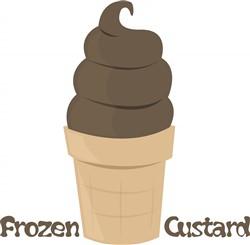 Frozen Custard print art