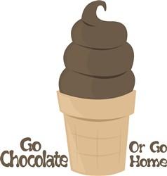 Go Chocolate print art