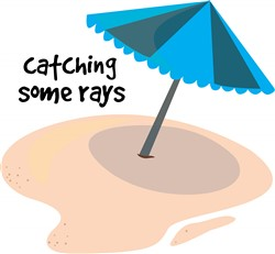 Catching Some Rays print art