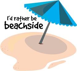 Rather be Beachside print art