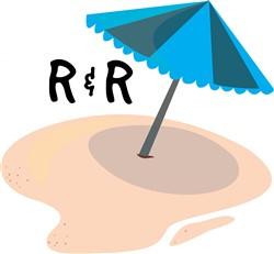 R&R Umbrella print art