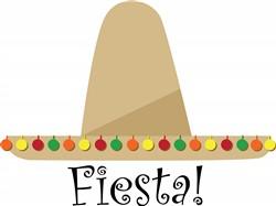 Fiesta Hat print art
