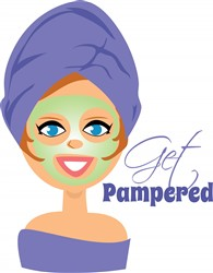 Get Pampered print art