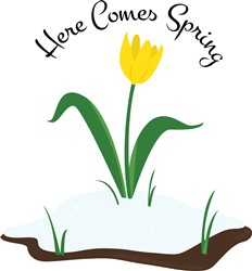 Here Comes Spring print art
