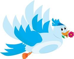 Blue Bird print art