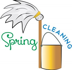 Spring Cleaning print art