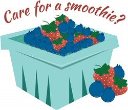 Care for a Smoothie print art