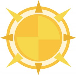 Sun Compass print art