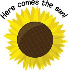Here Comes the Sun print art