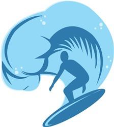 Surf Wave print art