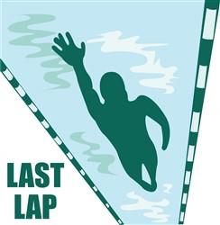 Last Lap print art