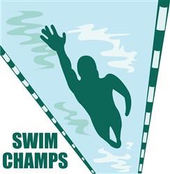 Swim Champs print art