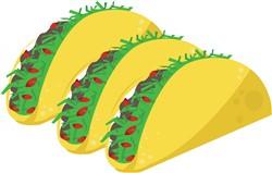 Taco Meal print art