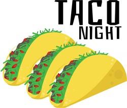 Taco Night print art