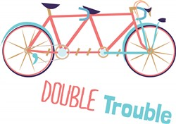 Double Trouble print art
