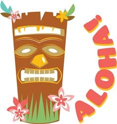Aloha Tiki Mask print art