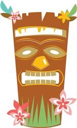 Tropical Tiki Mask print art