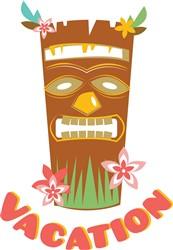 Vacation Tiki Lounge print art