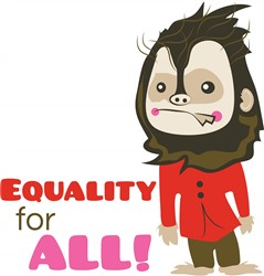 Equality for All print art