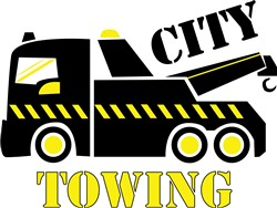 City Towing print art