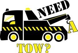Need A Tow? print art