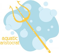 Aquatic Aristocrat print art
