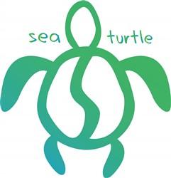 Sea Turtle print art