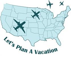 Plan Vacation print art