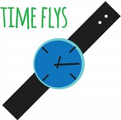 Time Flys print art