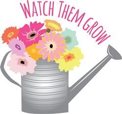 Watch Them Grow print art