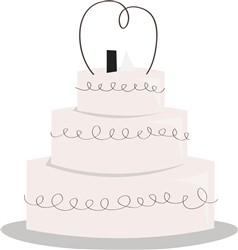 Wedding Cake print art
