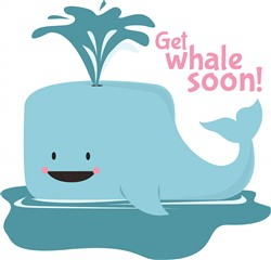 Get Whale Soon print art