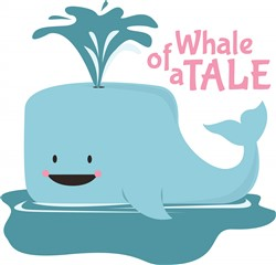 Whale of a Tale print art