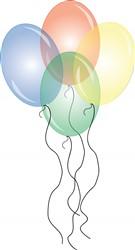 Party Balloons print art