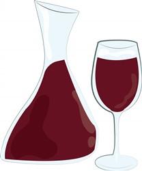 Wine Bottle print art